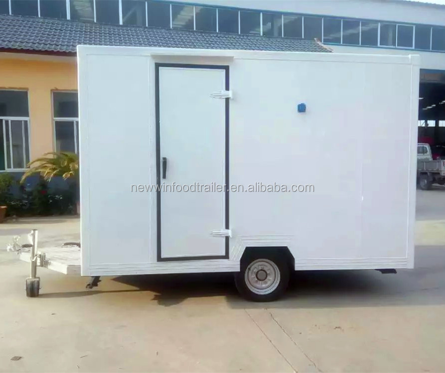 Mobile bakery fast food truck food trailer food kiosk carts