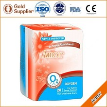 2016 New Style antibacterial sanitary pads,ladies sanitary absorbent pads