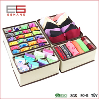 foldable underwear divided cardboard boxes
