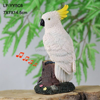 High quality resin animal parrot stand