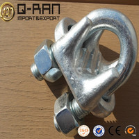 Cable Clamp Hardware Drop Forged Steel Galvanized U.S.Type