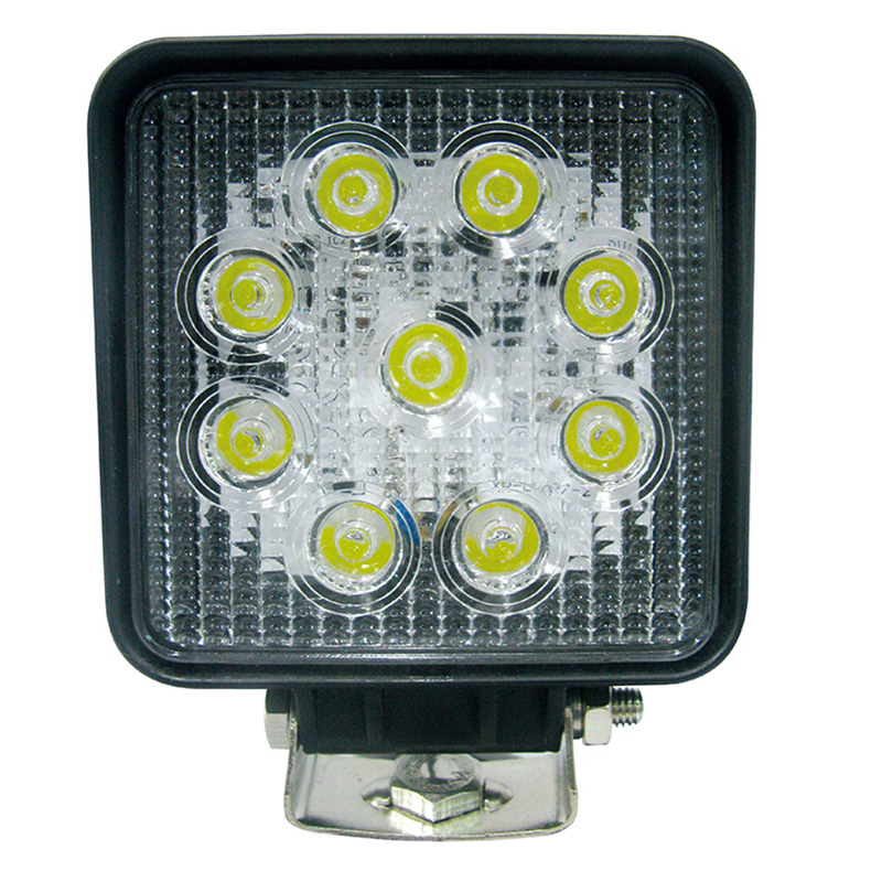 4.3'' 27W Square LED working Light Lamp for Truck,4WD,Offroad,Jeep,SUV,UTV