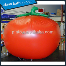 Advertising inflatable promotion fruit/vegetable,giant inflatable tomoro balloon