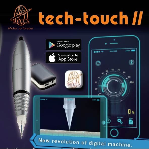 Tech-Touch II Digital permanent makeup tattoo machine