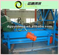 waste tyre processing equipment vibrator