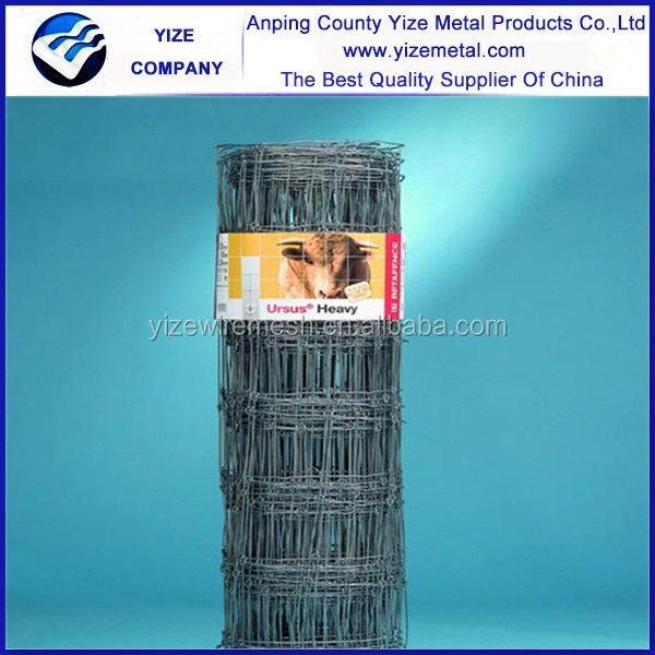 Wholesale Factory China precise construction everlasting High Tensile Farm Fence With Hingle Joint /Cattle Fence