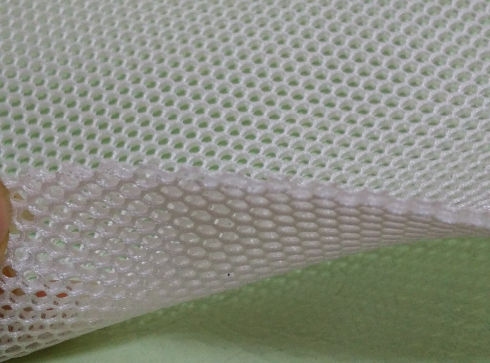 Low price of scooter 3d air mesh fabric 6mm best quality