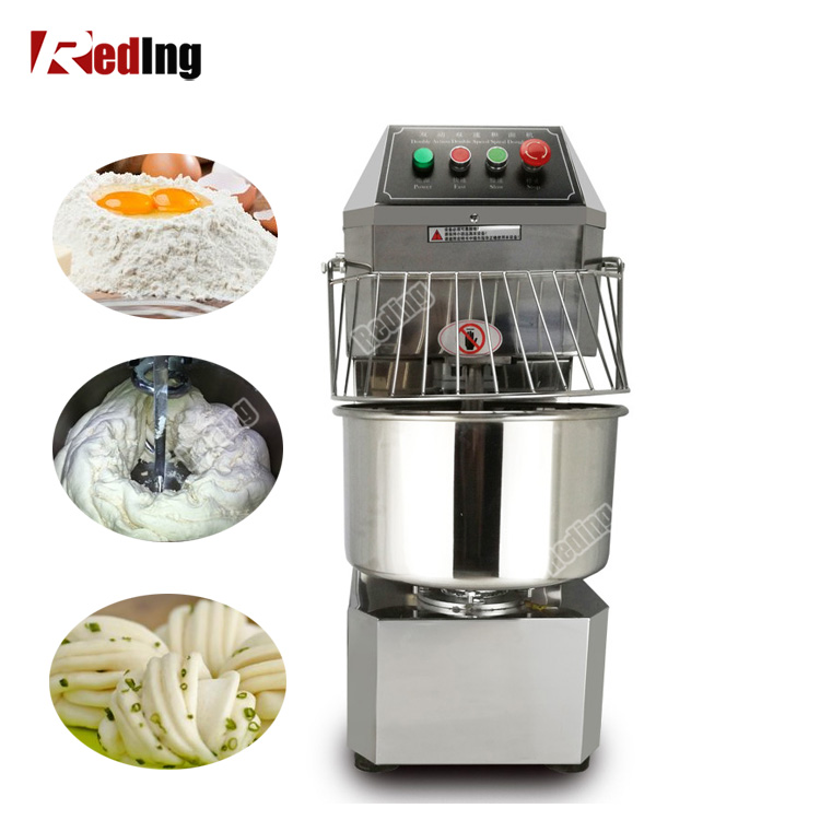 Top Quality commercial pizza bread cake spiral dough mixer prices