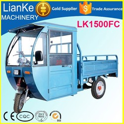 High efficiency electric cargo trike/electric delivery tricycle/open body cargo electric tricycle on sale
