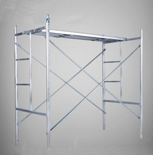 construction outdoor galvanized main frame scaffolding