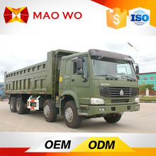 Chinese 8x4 40t Man Diesel Tipper Truck for sale