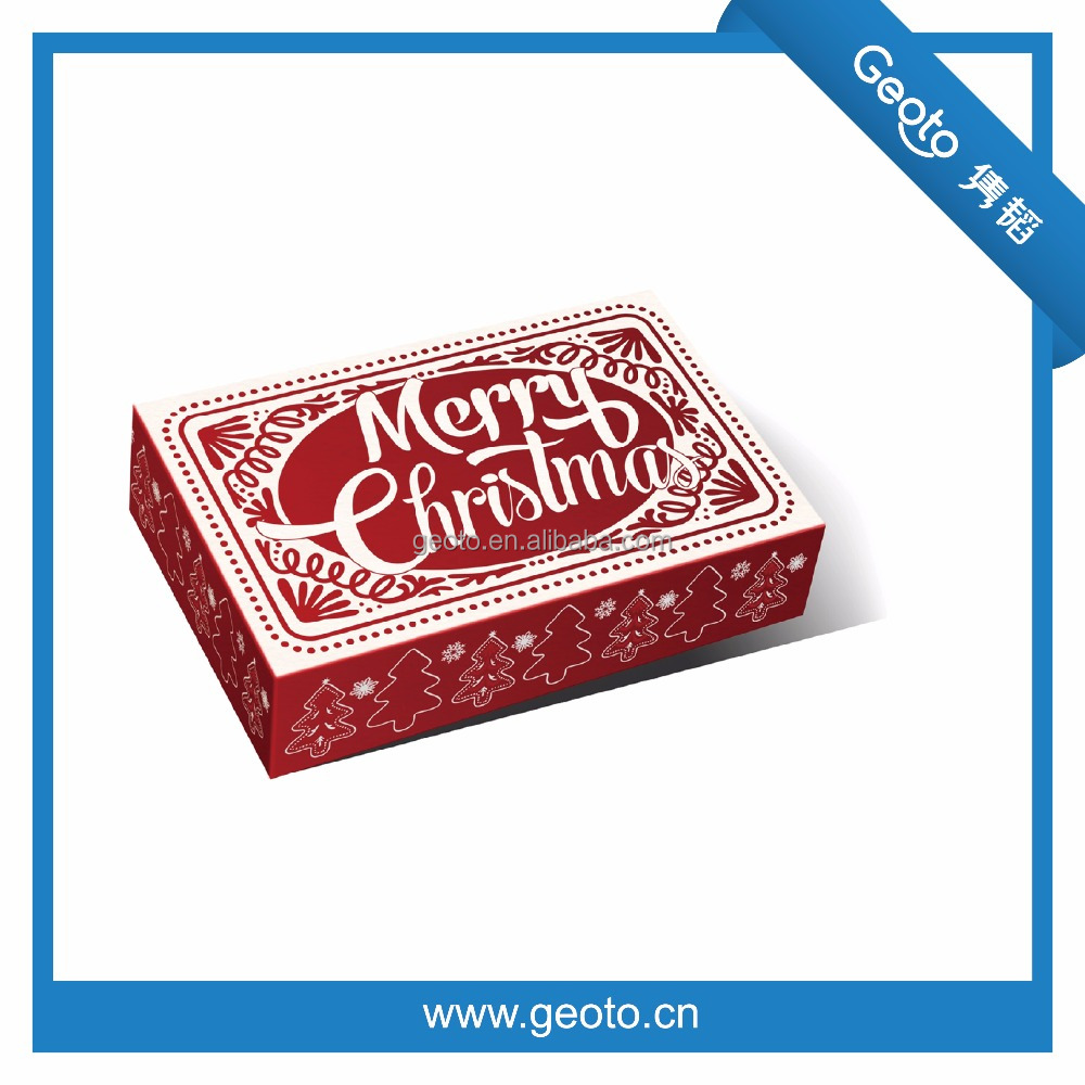 Lovely Christmas gift box , Clothing packaging box