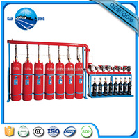 FM 200 fire suppression system with HFC-227ea gas fire extinguisher