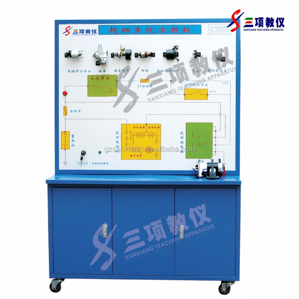 Hot Selling training teaching apparatus and educational test platform automatic transmission bench