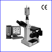 4XCE CCD Digital Metallographic Trinocular Microscope/ inverter metallurgical software
