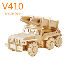 DIY educational wooden battery operated toy car toys