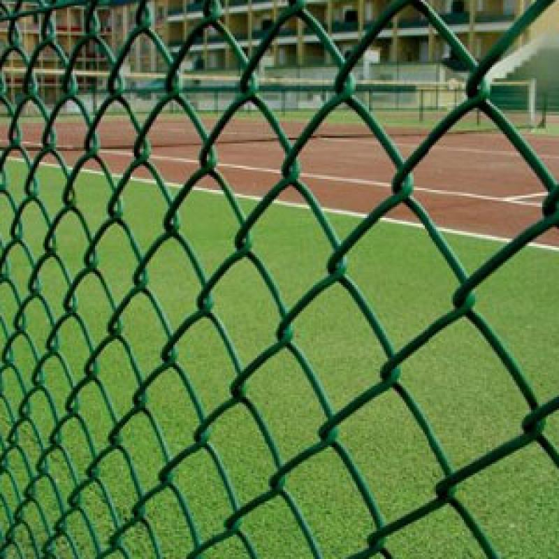 PVC coated sport court fence Hot dipped galvanized fence cyclonic netting