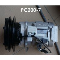 PC200-7 20Y-979-6121 Ac Compressor Air Conditioning Compressor For Excavator Truck