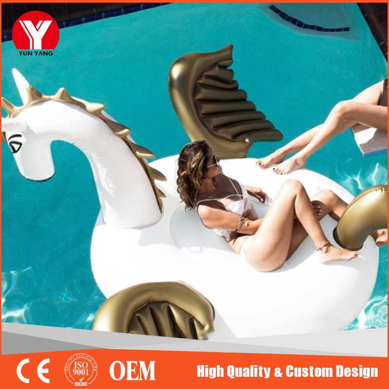 2017best sale giant Pvc inflatable pegasus pool float / water sports inflatable
