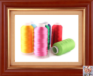 MADE IN CHINA RAYON EMBROIDERY THREAD 120D/2 VISCOSE EMBROIDERY THREAD 150D/2