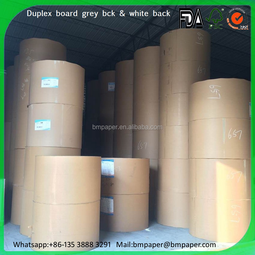 300g one side coated paper / 450g c1s coated paper / 350gsm c1s / clay coated duplex board