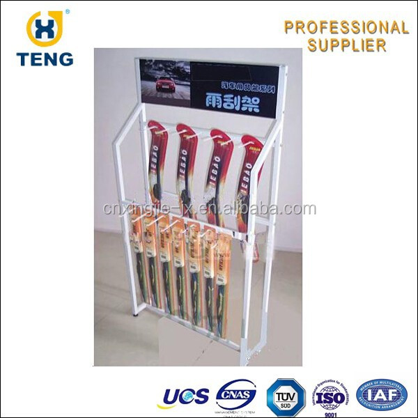 Promotion Wiper Blades Display Shelf