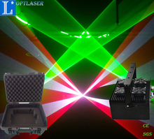 Party used laser system portable and stable diode laser lighting 5W logo projector.