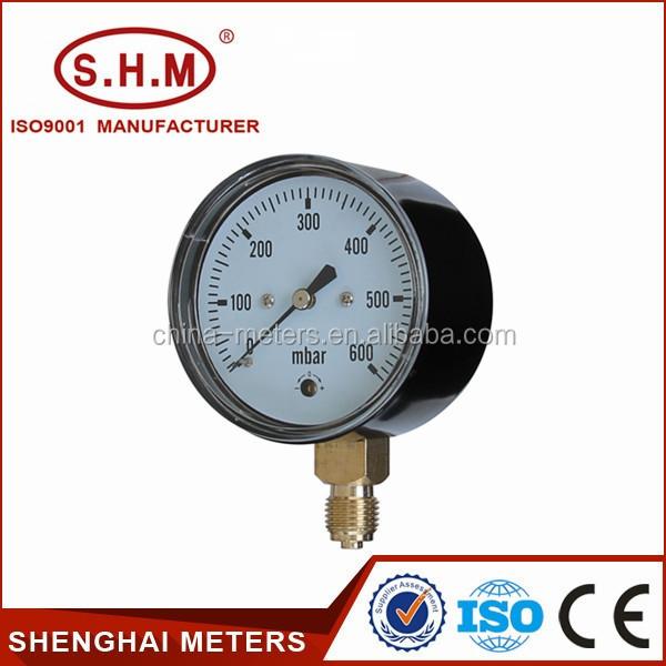 Pressure Measuring Instruments : Pressure measuring instruments mbar mpa gauge