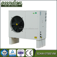 High quality EVI air to water heat pump water cooling in bathroom