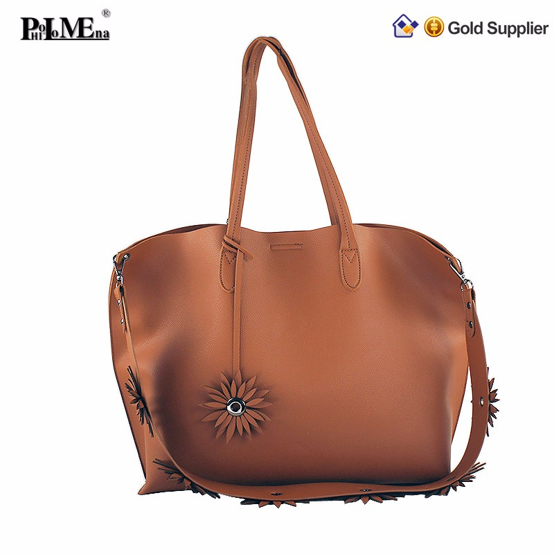 Stock goods top quality fashion designer ladies shoulder bags women handbag wholesale italian leather shoulder bags