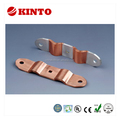 Copper laminated shunt, flexible copper strip connector