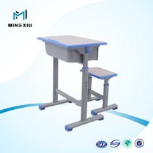 Mingxiu high quality middle school desk and chair / school classroom tables and chairs
