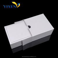 Customize handmade white cardboard clothes gift box Packaging Gift Box/ cardboard clothes box