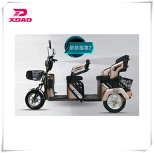 fashion electric passenger tricycles with led light