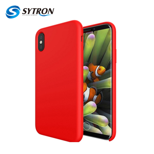 Factory Direct Supply Pc Silicon Soft Touch Free Sample Mobile Phone Case For Iphone x