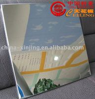 mirror aluminum ceiling tiles(ISO9001)