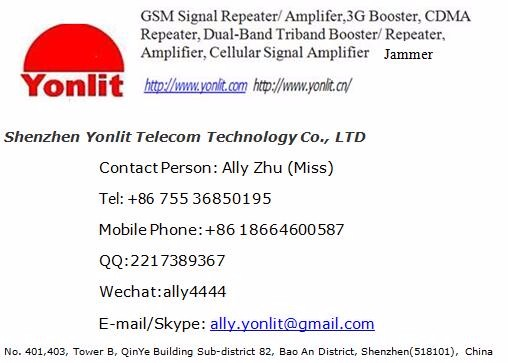 Yolit Customize Products EGSM 900MHz MCPA 50W-150W3G 4G RF PA Jammer Repeater Parts Fine Function
