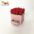 Customized cardboard square hat boxes with lids for flower rose nice packaging