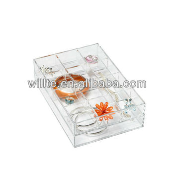 2016 best-selling acrylic bracelet jewelry display box