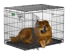 Black Folding Metal Wire Breeding Dog Cage For Cheap Sale
