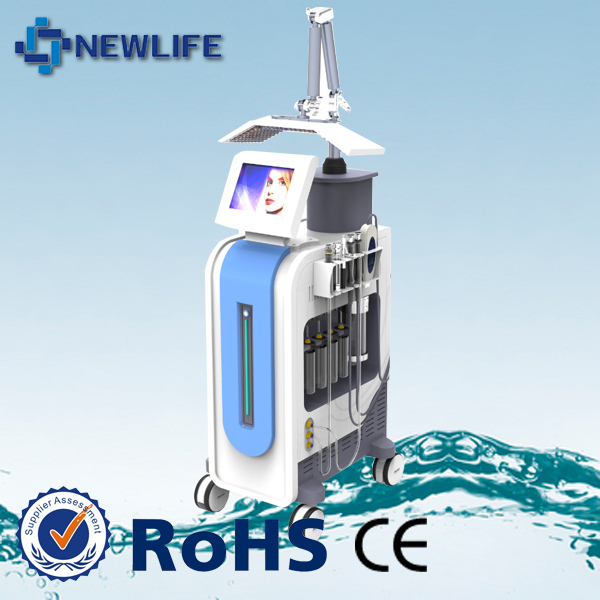 NL-SPA600 factory price skin care bio microcurrent face lift oxygen machine+professional pdt led light therapy