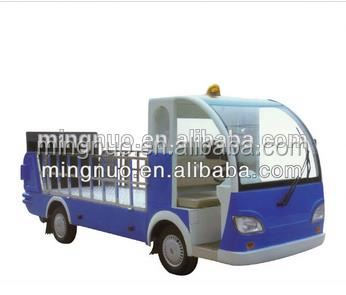 Electric garbage truck tail lift truck