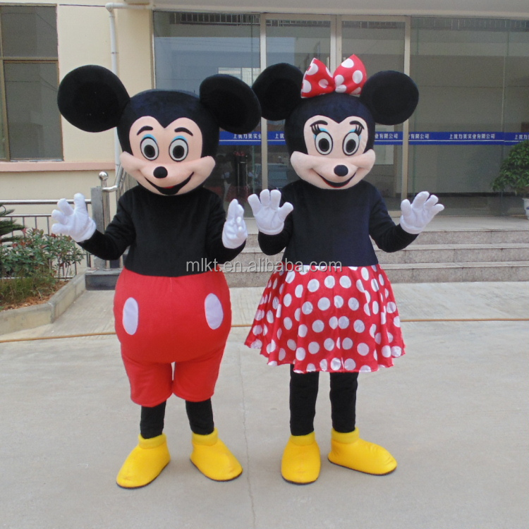 Factory direct sale customized new mickey beauty mouse costumes
