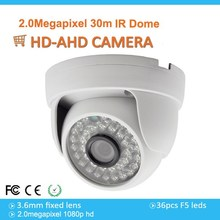 Well-Reputed 2MP 1080P Star-light AHD Dome Camera With 3.6mm Fixed Lens