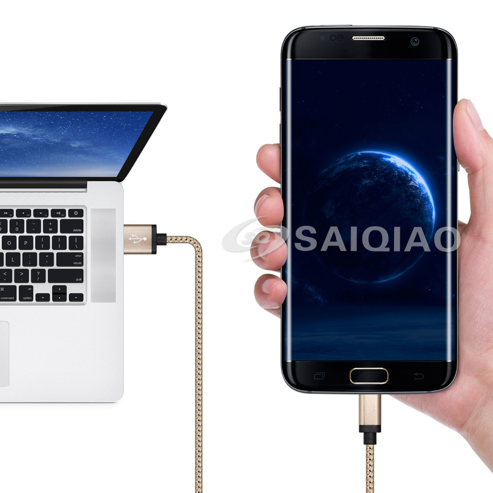 Mobile phone usb cable high speed charger usb cable android for samsung universal usb c cable