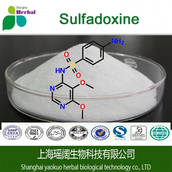 High quality Sulfadoxine 99% Cas 2447-57-6 for Antimicrobial