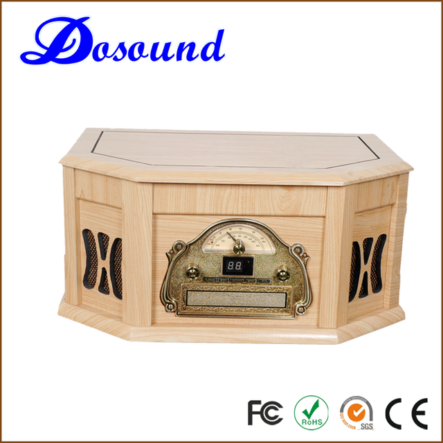 Professional manufacture vinyl needle turntable cd record cassette radio player
