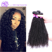 Factory Price Brazilian Human Hair Extension Wholesale Virgin Brazilian Kinky Curly Hair