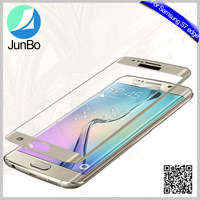 2016 New products ! full cover mobile phone tempered glass screen protector for Samsung galaxy s7 edge