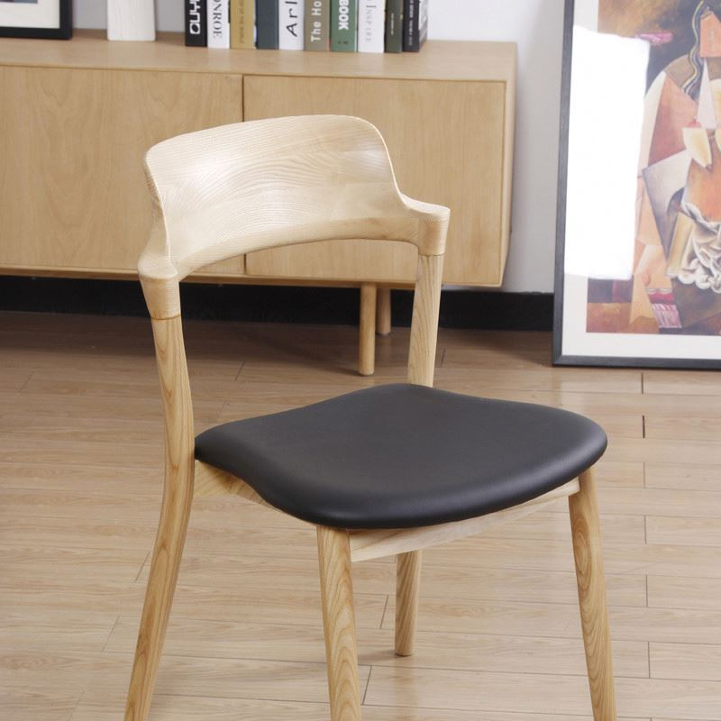 wooden leisure dining chair